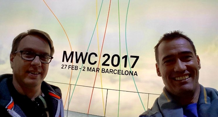Speed dating with vendors and three key trends from Mobile World Congress 2017