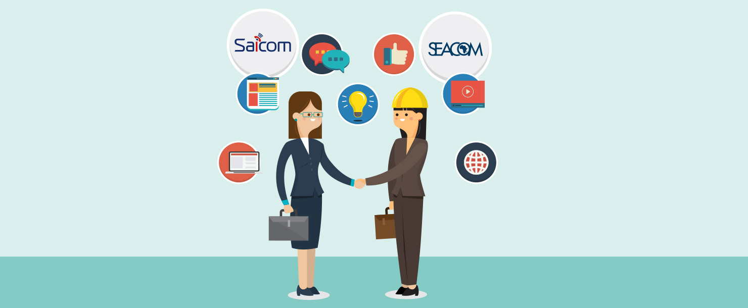 Saicom Voice Services enters into a VoIP, Cloud PBX partnership with SEACOM